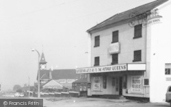 Queens Cinema, Liverpool Road c.1965, Kidsgrove