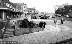 Shopping Centre c.1965, Kidsgrove