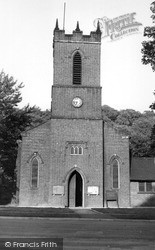 St Thomas' Church c.1960, Kidsgrove
