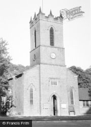 St Thomas's Church c.1960, Kidsgrove