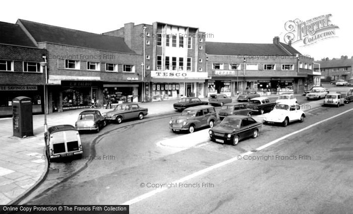 Kidsgrove, The Shopping Centre c.1970
