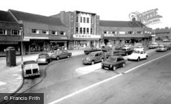 The Shopping Centre c.1970, Kidsgrove