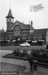 Kidsgrove, Victoria Hall c.1965