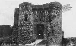 Castle Entrance c.1950, Kidwelly