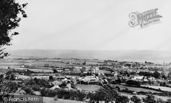 General View c.1955, Kidwelly