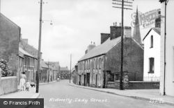 Lady Street c.1955, Kidwelly