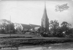 St Mary's Church 1893, Kidwelly