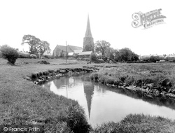 St Mary's Church 1925, Kidwelly