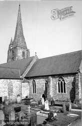 St Mary's Church c.1960, Kidwelly