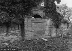 Kilbirnie, The Place Of Kilbirnie, Remains Of Porch 1958