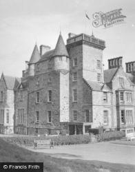 Kilconquhar, Castle 1953