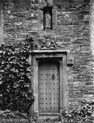 Kilkhampton, Chancel Door Of St James' Church 1910