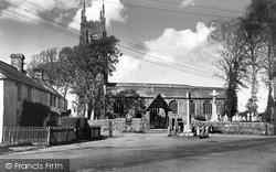 Kilkhampton, Church Corner 1949