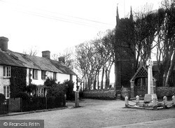 Kilkhampton, Church Corner c.1933