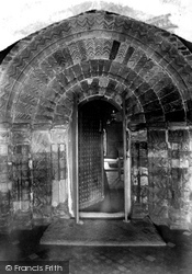 Kilkhampton, Church Door 1910