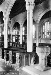 Kilkhampton, Church Font 1910