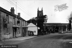 Kilkhampton, London Inn And St James' Church 1949