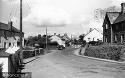 Kilkhampton, Main Street From The South 1949