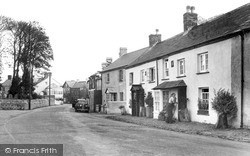 Kilkhampton, Main Street Looking North 1949