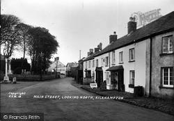Kilkhampton, Main Street Looking North c.1933