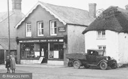 Kilkhampton, Post Office c.1933