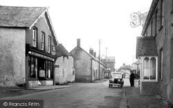 Kilkhampton, Post Office Street c.1933