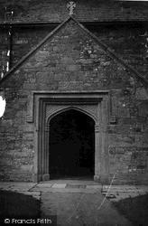 Kilkhampton, St James's Church Porch 1949