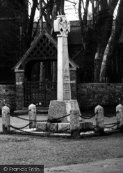 Kilkhampton, The Memorial c.1933