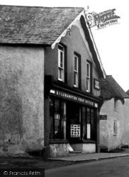 Kilkhampton, The Post Office c.1933