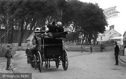 Kilkhampton, The Stagecoach 1910