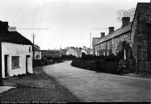 Photo of Kilkhampton, Village And North End c.1933