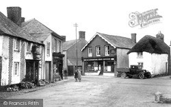 Kilkhampton, Village And Post Office c.1933