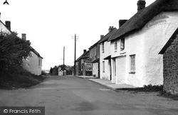 Kilkhampton, West Street 1949