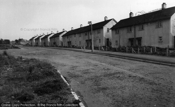 Killamarsh, Cherry Tree Drive c1960