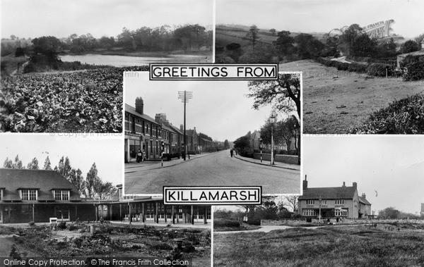 Photo of Killamarsh, Composite c.1955