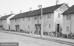 Killamarsh, Houses In Cherry Tree Drive c.1960