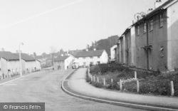 Killamarsh, Houses On Delves Road c.1960