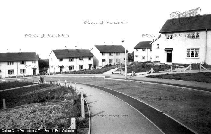 Photo of Killamarsh, Rectory Road c.1960