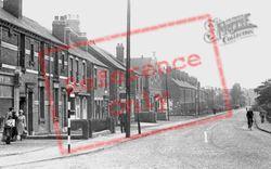 Sheffield Road c.1955, Killamarsh