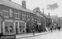 Sheffield Road c.1965, Killamarsh