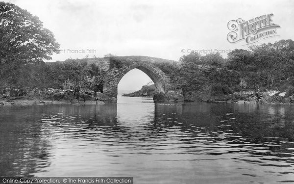 Photo of Killarney, Brickeen Bridge, From Middle Lake 1897
