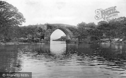 Brickeen Bridge, From Middle Lake 1897, Killarney