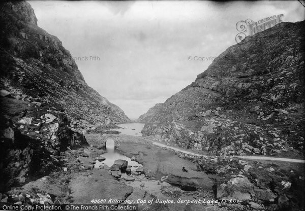 Photo of Killarney, Gap Of Dunloe, Serpent Lake 1897
