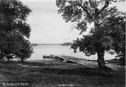 Lower Lake From Innisfallen 1897, Killarney