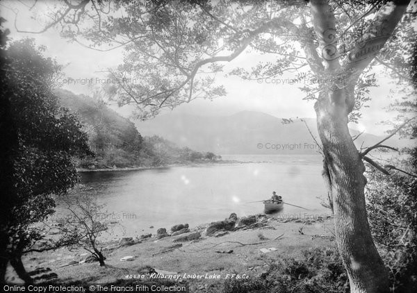 Photo of Killarney, Lower Lake From Innisfallen 1897