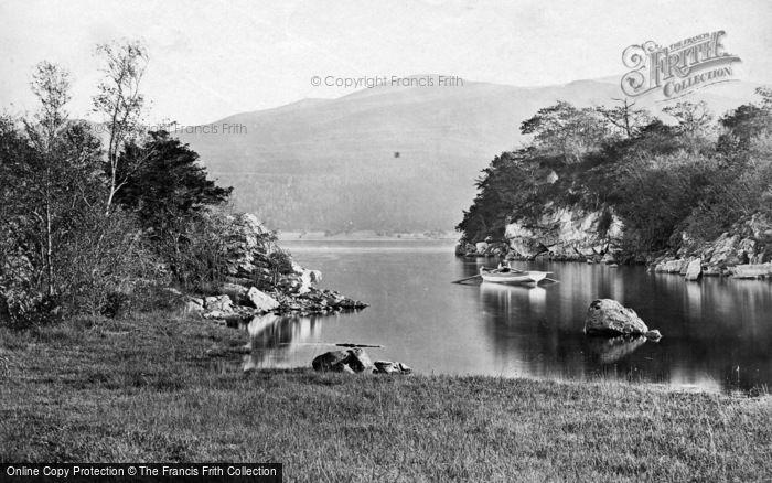 Photo of Killarney, Middle Lake And Mangerton Mountains c.1863