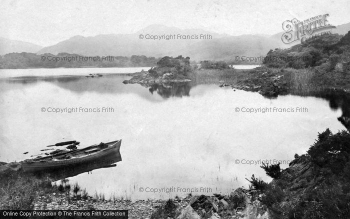 Photo of Killarney, Middle Lake And Victoria Rock 1897