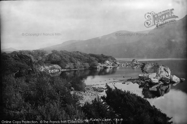 Photo of Killarney, Middle Lake, Colleen Bawn And Victoria Rocks 1897