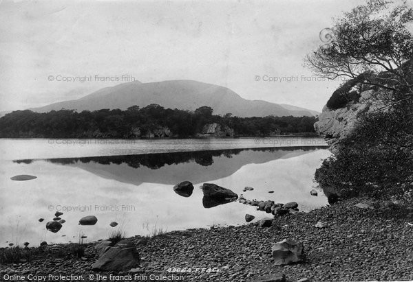Photo of Killarney, Middle Lake, Colleen Bawn Caves 1897