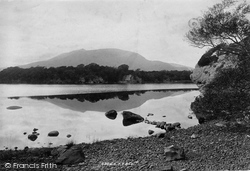 Middle Lake, Colleen Bawn Caves 1897, Killarney